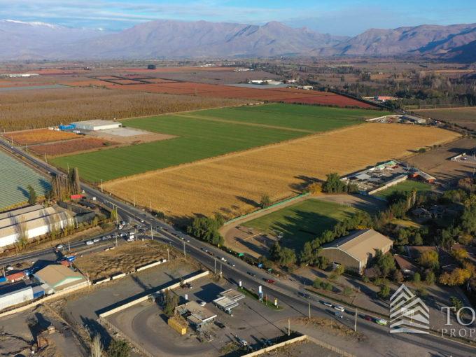 Terrenos Industriales en Venta en San Felipe, V Región.